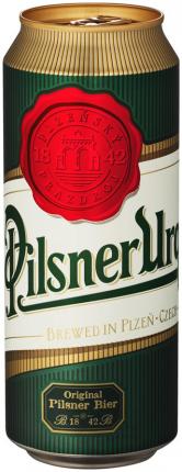 Пиво Pilsner Urquell светлое 4,4% 0,5 л