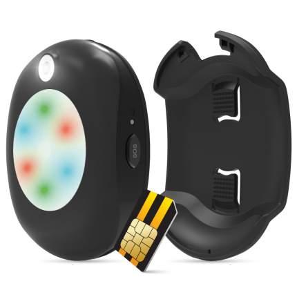 GPS-трекер для животных Geozon Radar G-SM17 черный + sim-карта + связь на год