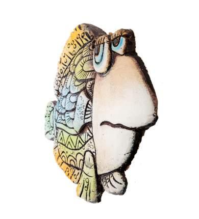 """Панно """"Рыба"""" шамот KK-243"""