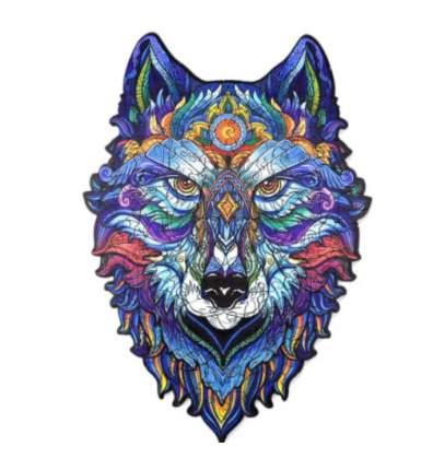 Деревянная мозаика пазл Wellywell Свирепый волк 150 эл.