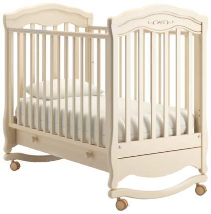 Кровать детская Gandylyan Шарлотта Люкс слоновая кость К-2003-2