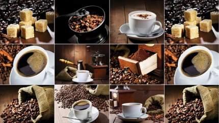 """Кухонный фартук DEXPAN, """"Кофе""""  (200 см)"""