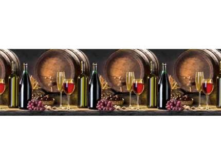 """Кухонный фартук DEXPAN, """"Вино  (300 см)"""