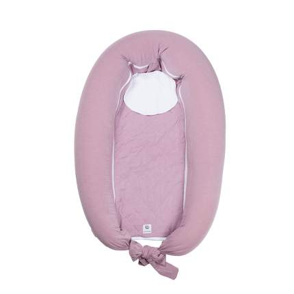 Подушка для мам+кроватка с матрасиком Easygrow mum&me 0+ pink melange