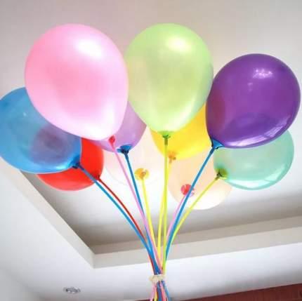Воздушные шары COSY с разноцветными держателями 25 шт