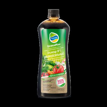 Органическое удобрение OrganicMix Эликсир №1 универсальный 10881 0,9 л