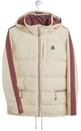 Куртка Сноубордическая Burton 2020-21 Keelan Creme Brulee/Rose Brown (Us:s)