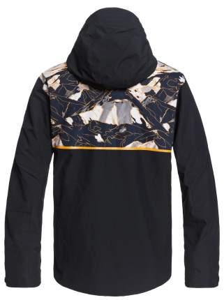 Куртка Сноубордическая Quiksilver 2020-21 Side Hit Flame Nature Abstrakt (Us:xs)