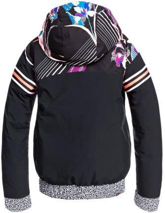 Куртка Сноубордическая Roxy 2020-21 Pop Meridian True Black Pop Flowers (Us:l)