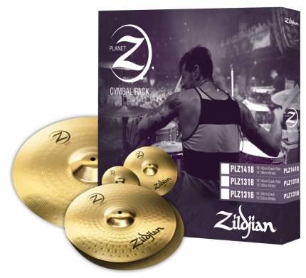 "Набор тарелок Zildjian PLANET Z PLZ1316 Hi-hat 13"", Crash 16"""