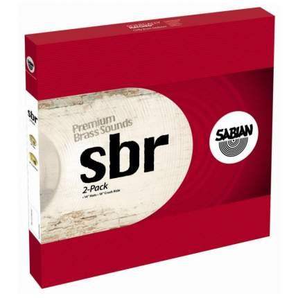 "Комплект тарелок SabianSBR 2-PACK 14"" HI-HATS, 18"" Crash ride"