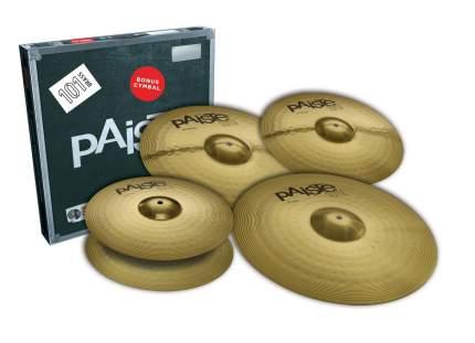 Комплект тарелок Paiste 101 Brass Universal Set + Bonus 14