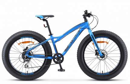"""Велосипед Stels Aggressor D 24 V010 2019 13.5"""" синий"""