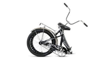"Велосипед Forward Arsenal 20 1.0 2021 14"" черно-серый"