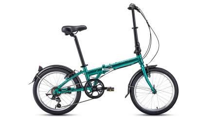 """Велосипед Forward Enigma 20 2.0 2021 11"""" зелено-коричневый"""