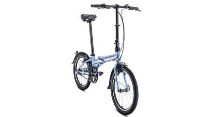 """Велосипед Forward Enigma 20 3.0 2021 11"""" фиолетово-коричневый"""