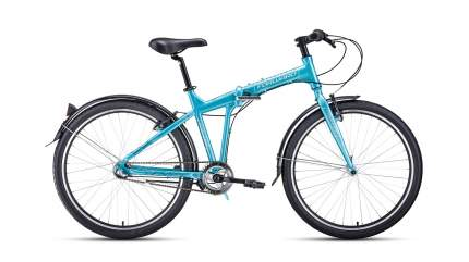 "Велосипед Forward Tracer 26 3.0 2021 19"" бирюзово-белый"