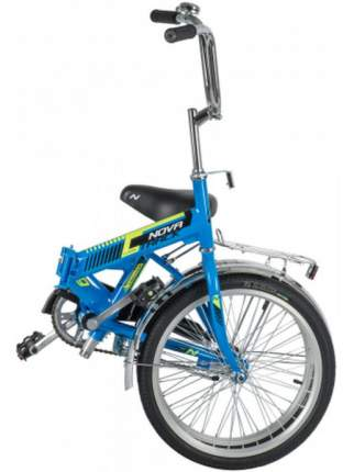 Велосипед Novatrack Tg 20 2021 One Size синий