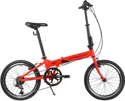 """Велосипед Novatrack Tg Alu. 6 Sp. 2021 10"""" красный"""