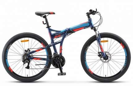 """Велосипед Stels Pilot 950 MD V011 2020 19"""" темно-синий"""