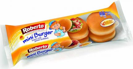 Булочки Roberto для бургера мини 200 г