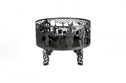Костровая чаша Fire Bowls Медовая фантазия 60х60 см