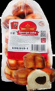 Кексы Ризык Sponge cake с шоколадной начинкой 300 г