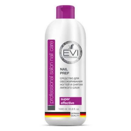 Средство EVI professional, для обезжиривания ногтей и снятия липкого слоя, 1 л