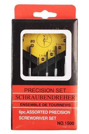 Набор отверток для ремонта электроники Precision Set NO.1500, 6 шт
