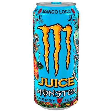 Газированный напиток Black Monster Mango Loco 449 мл