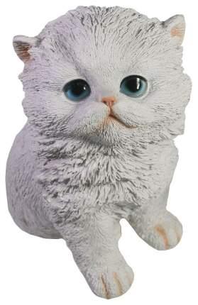 Котенок белый, 16см