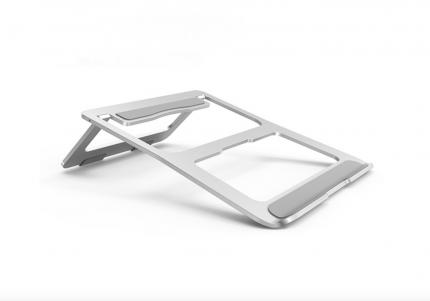 Подставка-держатель для ноутбука MyPads A68-043 серебристая