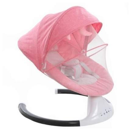 Качели-шезлонг для новорожденных iDreamy 3в1 цвет фламинго