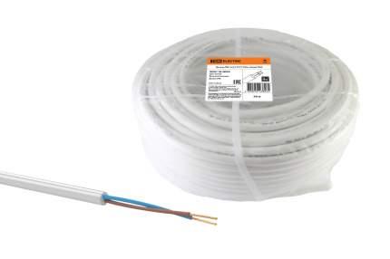 Провод ПВС 2х2,5 ГОСТ (50м), белый TDM
