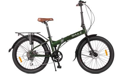 Велосипед Shulz Easy Fat Disc 2021 One Size dark green