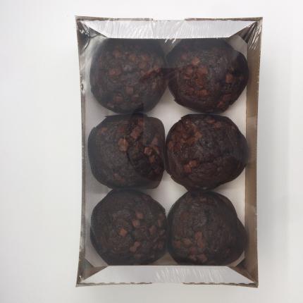 Маффины Rioba шоколадные 100 г х 6 шт