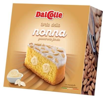 Пирог Dal Colle Torta Della Nonna с заварным кремом и миндалем 300 г