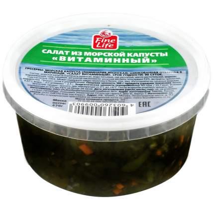 Салат Fine Life Витаминный из морской капусты 470 г