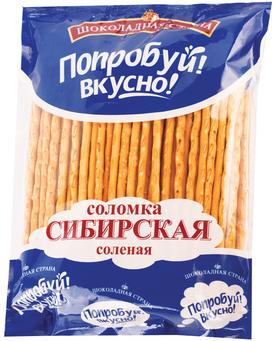 Солодка Шоколадная Страна Сибирская соленая 200 г
