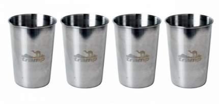 Набор стальных стаканов Tramp TRC-076 (175мл)