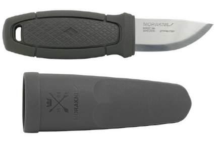 Нож Morakniv Eldris Light, нержавеющая сталь, цвет темно-серый, с ножнами