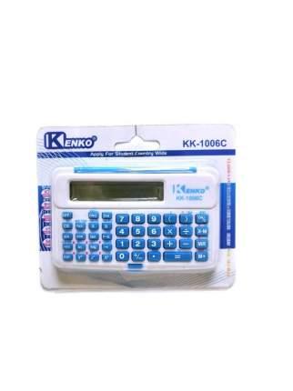 Инженерный 10-разрядный калькулятор Kenko KK-1006C Голубой