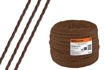 "Ретро провод ""Эко"" 2х2,5 витой ГОСТ коричневый (50м) TDM"
