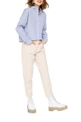 Блуза женская befree 2021153306 синяя XS