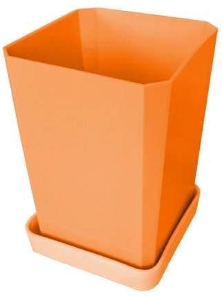 Горшок для рассады Оранжевый, 0,75л