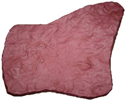 Плитка Камень, красно-бежевая