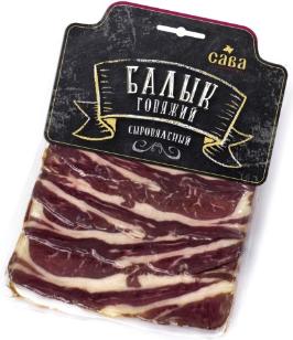 Балык Сава говяжий сыровяленый нарезка 100 г