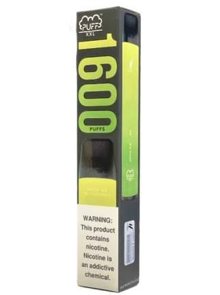 Одноразовая электронная сигарета PUFF XXL Apple Ice (Ледяное Яблоко) 5% на 1600 затяжек