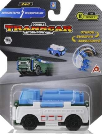 Автовывернушка 2 в 1 TransCar Double Автоцистерна - Внедорожник