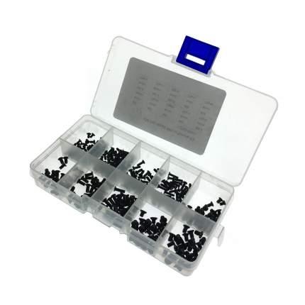 Набор винтов TAFBLUF М2, М2,5, М3 для ноутбука в пластиковом кейсе 250 шт